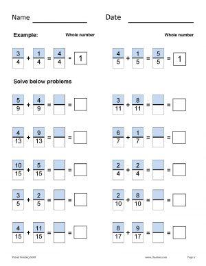 Math Fractional