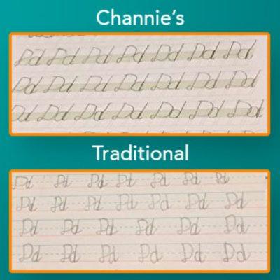 cursive handwriting tool